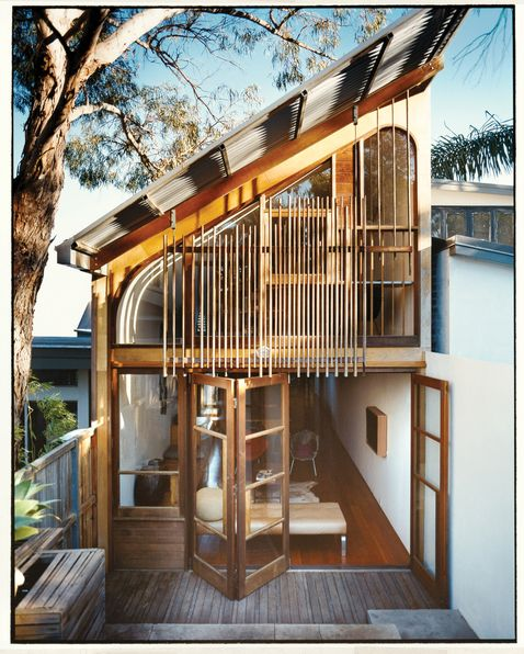extension on a Sydney workers cottage by Wilkin and Pini - so beautiful