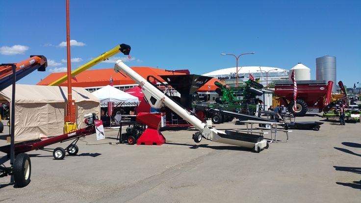 Rodono Industries and the retracting swing grain auger makes your job of grain handling even easier....