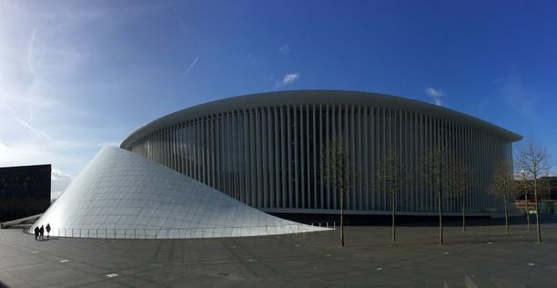 Philharmonie Luxembourg, Luxembourg City, Luxembourg — by Adrian Damian. #StunningStructures Luxembourg Philharmonie