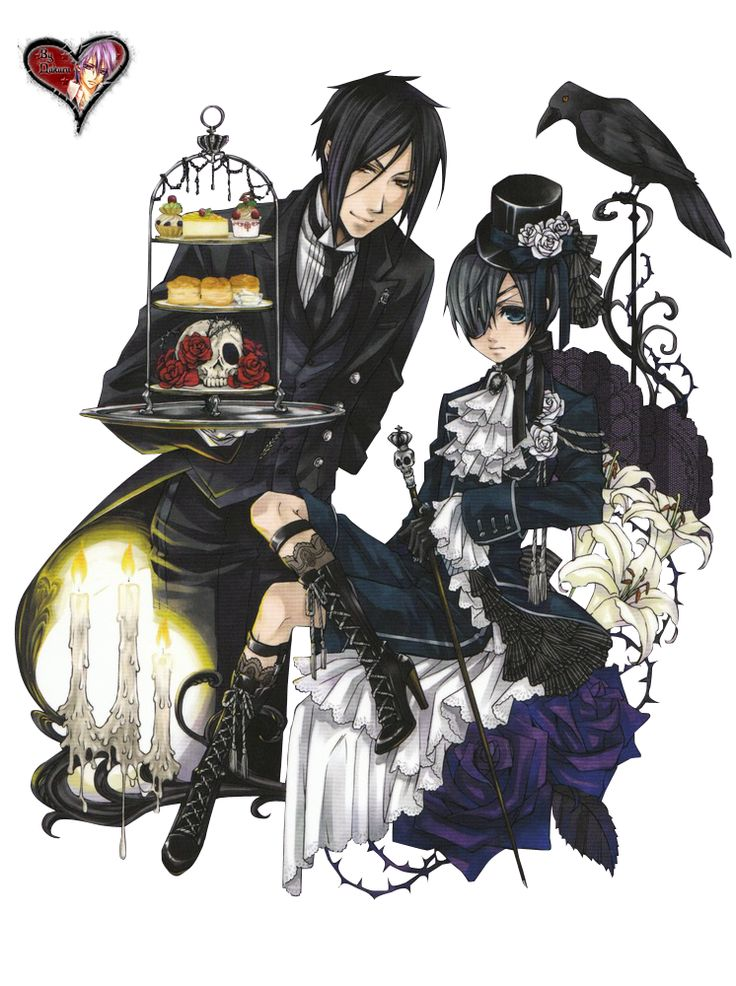 Render Kuroshitsuji - Renders kuroshitsuji sebastian and ciel black butler