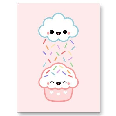 Cute Cupcake with Sprinkles Post Cards                                                                                                                                                     More