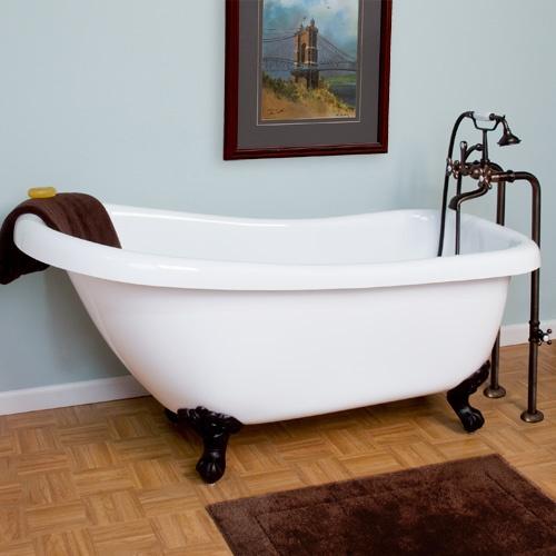 46 best clawfoot bath ideas images on pinterest for Clawfoot bathroom ideas