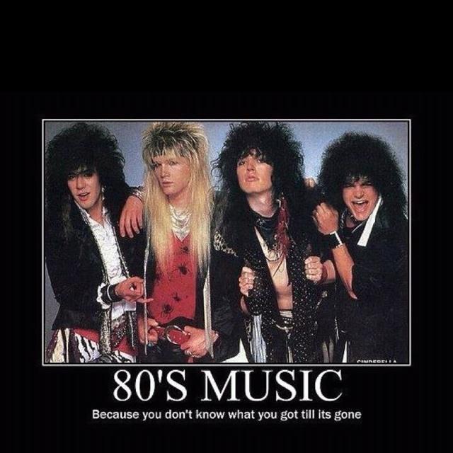 80 90 hair bands radio
