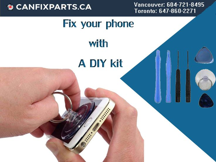 Now fix your #phone easily with #DIY kit. Reach us at +1 647-860-2271/ 604-721-8495 or visit http://ow.ly/BF5930enVXm to know more. #repair