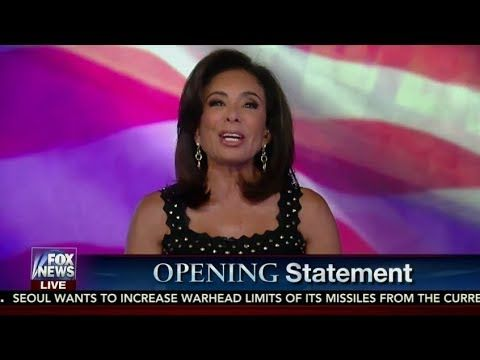 Justice with Judge Jeanine Pirro 7/29/17 - Judge Jeanine Fox News July 29, 2017 Reince Priebus Fired - YouTube