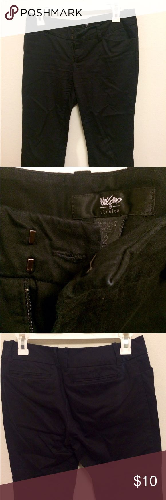 Black Capri trouser pants In great condition. True to size. Great for work. Mossimo Supply Co Pants Capris