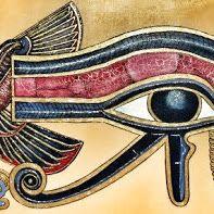 Quadro Olho de Horus em MDF.