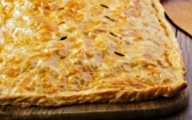 Πίτα με κίτρινη κολοκύθα και φέτα