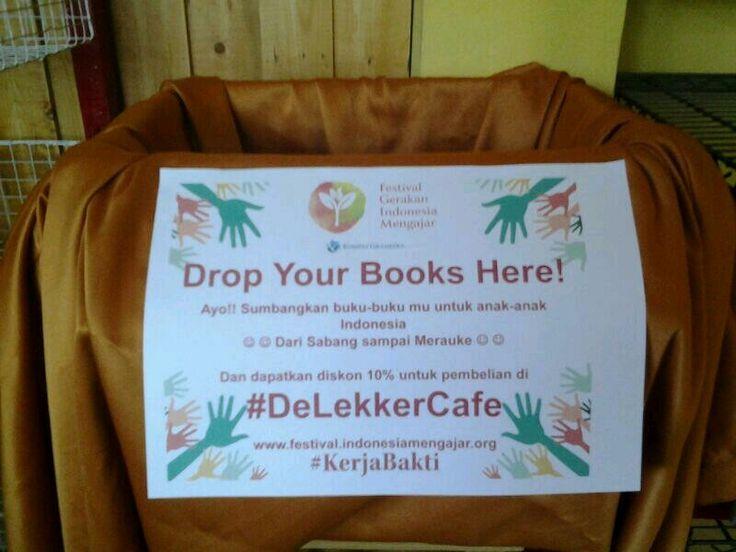 Dropbox di DeLekker Cafe, Bekasi