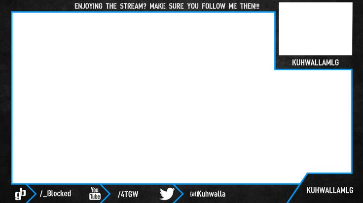 Webcam Overlay Twitch