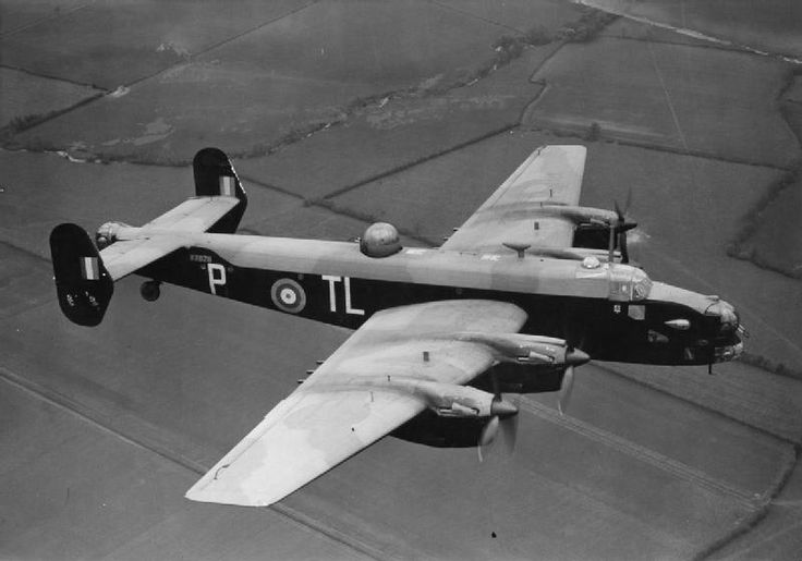 http://ww2today.com/wp-content/uploads/2013/04/Halifax-in-flight.jpg Handley Page Halifax Mk II W7676 'TL-P' of No. 35 Squadron in flight, circa May 1942. This aircraft was lost on an operation to Nuremberg on 28/29 August 1942.