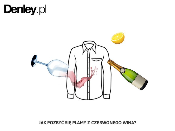 Nie ma nic gorszego niż plama z czerwonego wina na koszuli. Jak się jej pozbyć ? Potrzebować do tego będziemy białego szampana lub białego wina albo cytryny, ale należy pamiętać, że plamy tego typu trzeba usuwać szybko. Namocz plamę w/w trunkiem (dokładnie, by nie spowodować kolejnych) a później upierz koszulę w pralce lub ręcznie. Dla tych, którzy nie chcą marnować alkoholu polecamy sposób z sokiem z cytryny (skuteczny też w stosunku do starych plam). Kilka kropel zaaplikuj na plamę a…