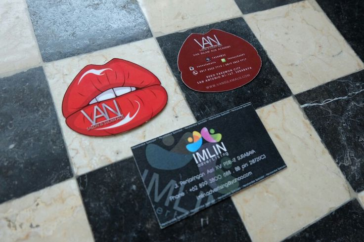 Business Card design & production by me