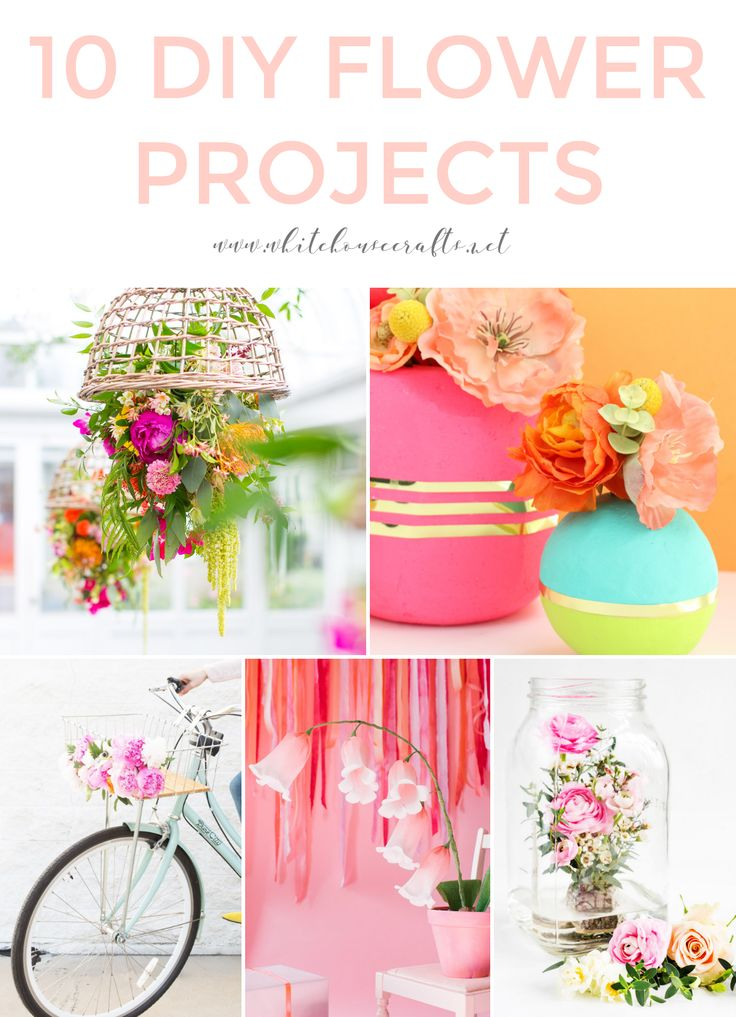 INSPIRATION: DIY FLOWER PROJECTS