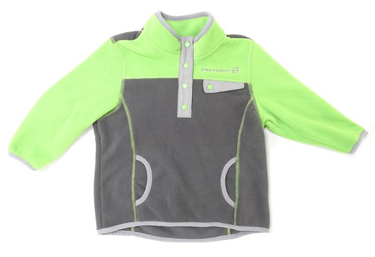 Free Country Boys Size 2T Microtech Fleece Pullover, Lead Pencil. Size: 2T. Color: Lead Pencil. Material: 100% Polyester. Care: Machine Wash Cold, Tumble Dry Low.