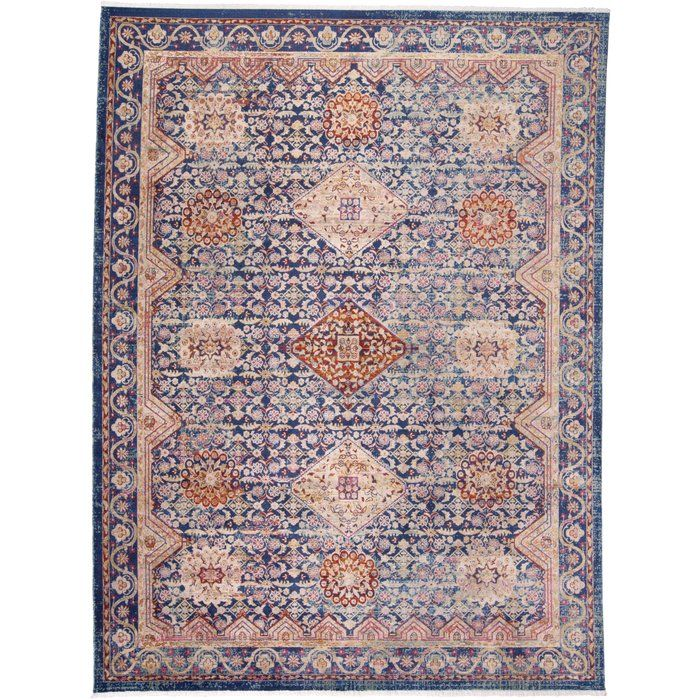 Borgen Navy Tan Red Area Rug Red Area Rug Area Rugs Rugs