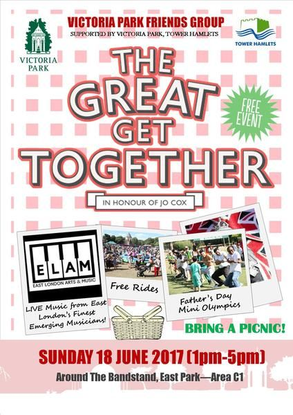 The Great Get Together Picnic - Park Events - Arts events - Tower Hamlets - Arts & Entertainment