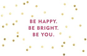 free desktop background from Sugar Paper #dots #quote