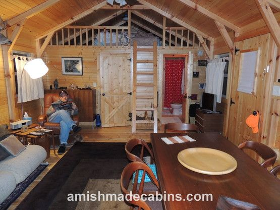 amish made cabins deluxe appalachian portable cabin kentucky my rh pinterest com