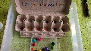 jeu des couleurs petite section