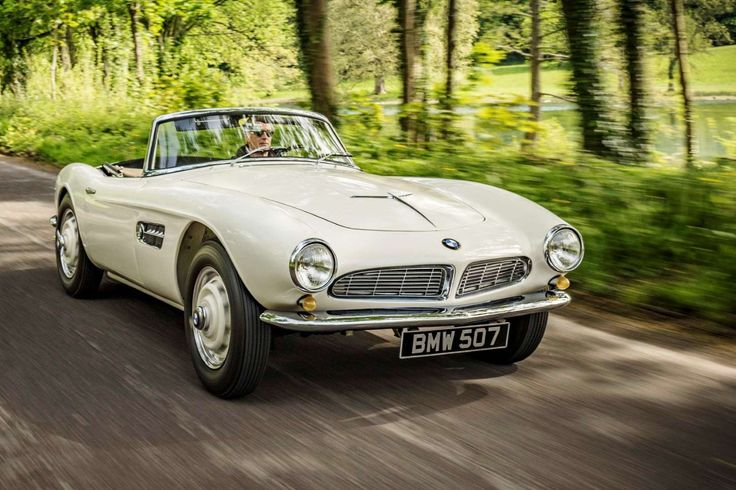 The BMW 507 roadster – complete with burbling V8 – is arguably one of the most beautiful cars ever. ... - BMW