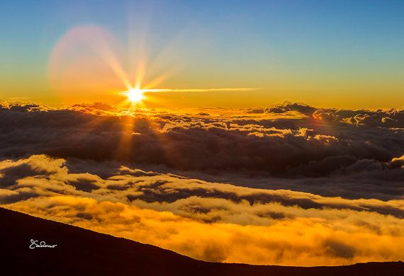 Haleakala Sunset Maui Volcano Volcano And Hawaii Volcano - Maui zip codes
