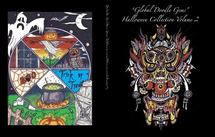 """Global Doodle Gems"" Halloween Collection Volume 2"