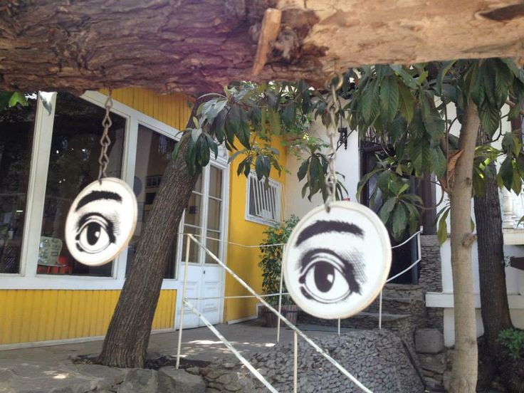 Pablo Neruda's house in Santiago, Chile.