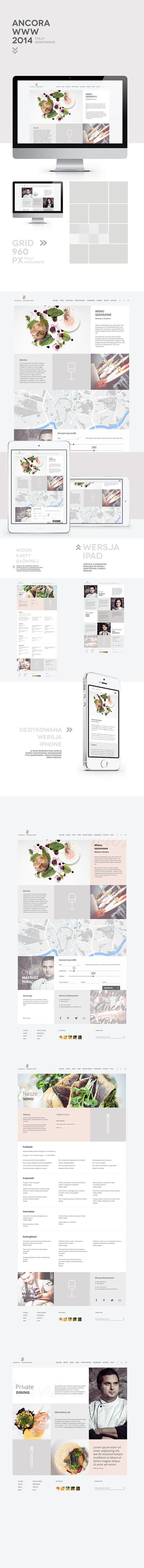 elegant. #restaurant #website #webdesign