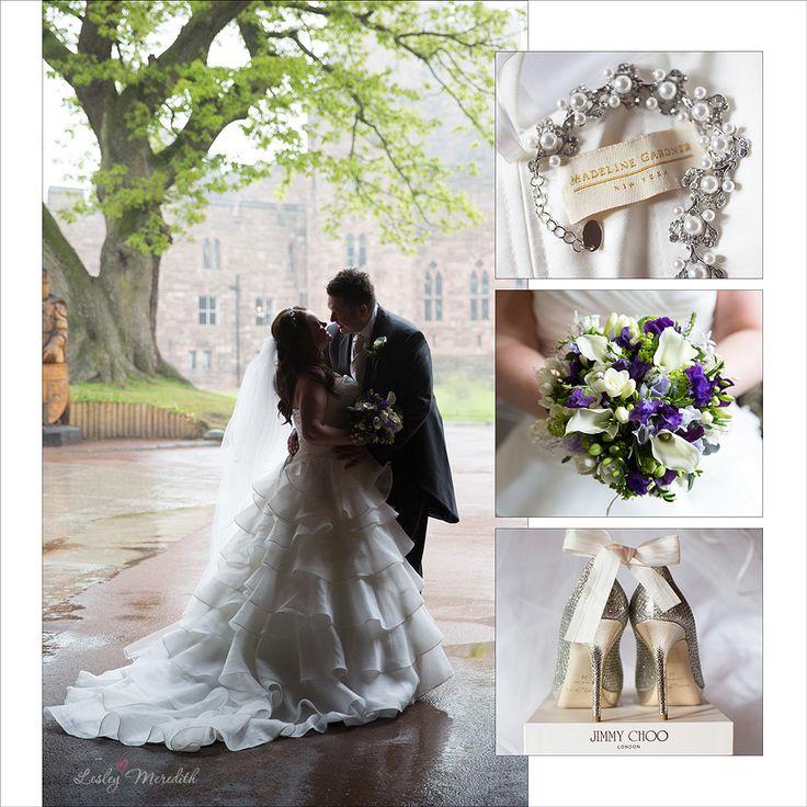 Bridal inspiration u0027Dawn u0026 Andrewu0027 at Peckforton