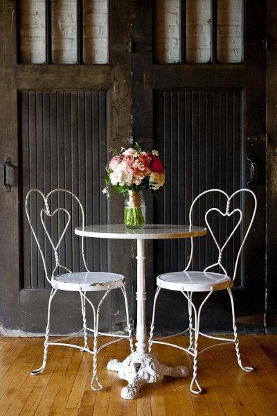 heart chairs