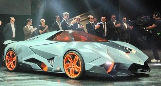 Concept Lamborghini Egoista. This is just crazy looking.