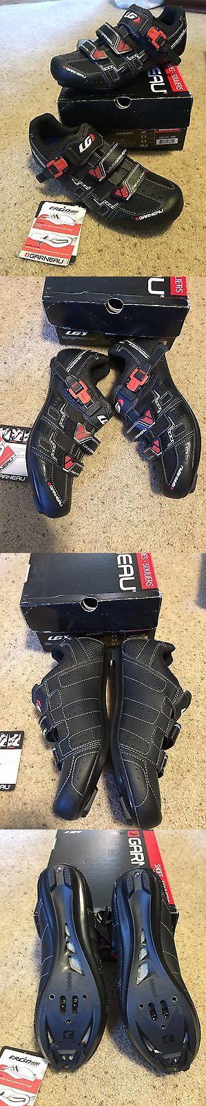 Women 158987: New In Box Louis Garneau Revo Xr3 Black Red Cycling Shoes Women Sz Eu41 Us 7.5 -> BUY IT NOW ONLY: $49.95 on eBay!