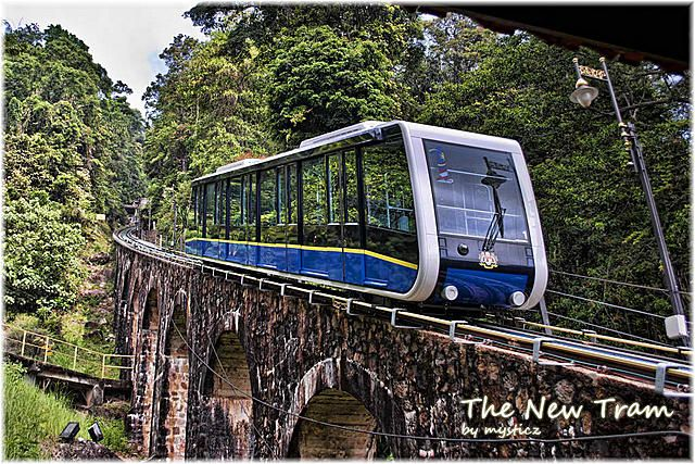 The New Tram - Penang Hill Cable Car