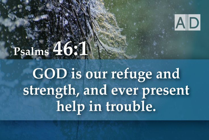 God, Our Ever Present Help!