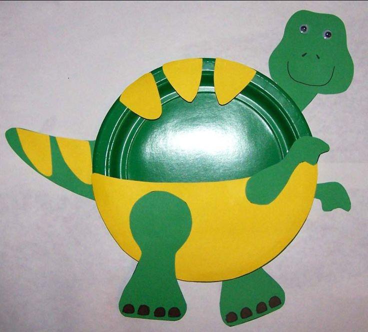 preschool crafts   Preschool Crafts for Kids*: T-Rex Paper Plate Craft
