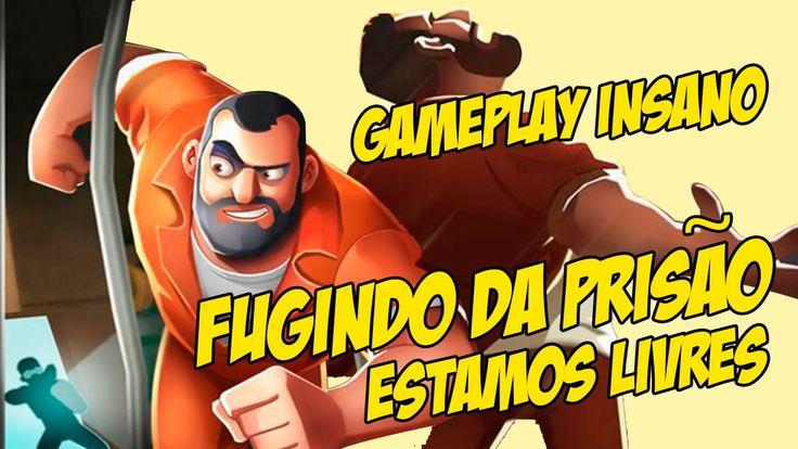 Gameplay com a Patroa   Fuga da Prisão parte 02 Zeramos a vida