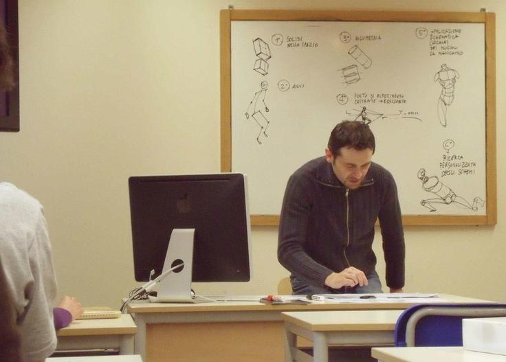 AULA DI ILLUSTRAZIONE  Direzione artistica: Stefano Tamiazzo #scuolainternazionaledicomics #internationalschoolofcomics #stefanotamiazzo