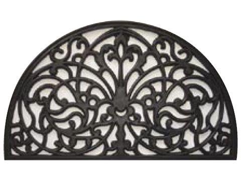Doormat Designs - Half-Round Irongate Doormat