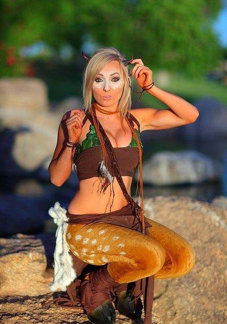 Sexy faun  nigri-fanpage:    Jessica the Faun  Photo by Grant Brummett  Jessica's Facebook Page (she updates a lot!)