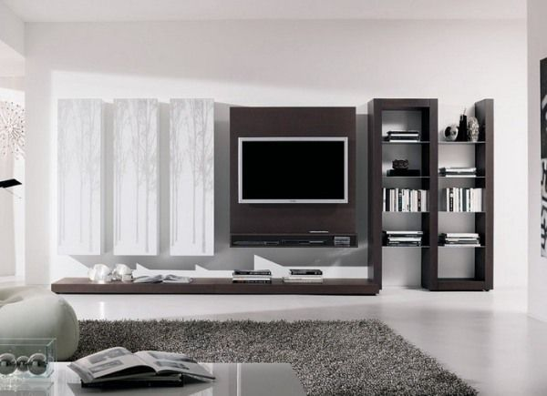 20 ides comment intgrer le meuble tl dans le salon tv wall panel - Tv Wall Panels Designs