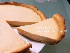簡単安価♪フライパンでタルトチーズケーキ by *s*a*e*