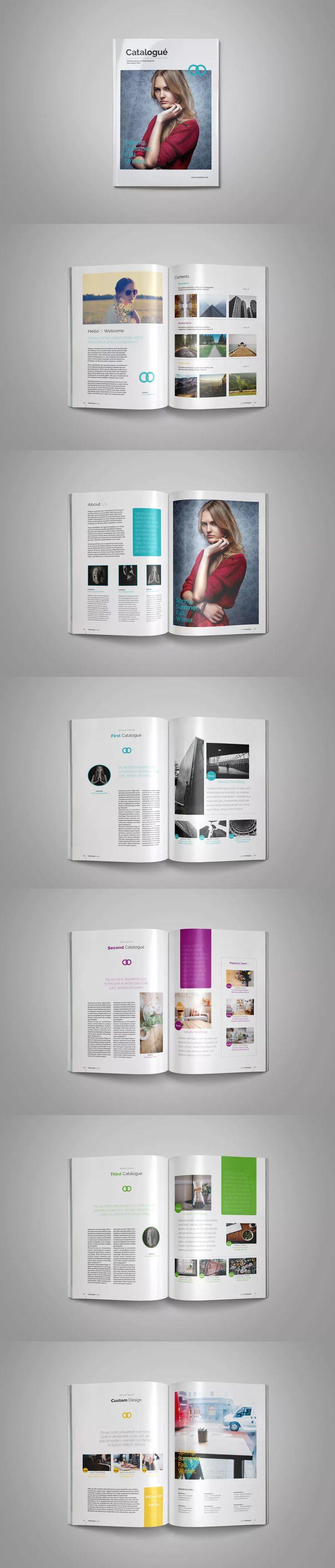 Multipurpose Brochure Catalog Template InDesign INDD