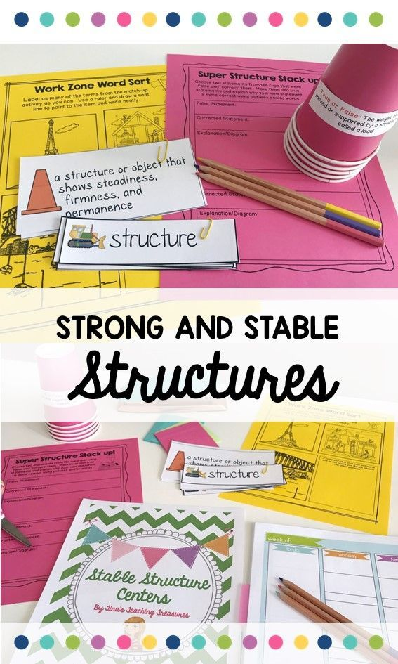 This is a complete hands-on science unit all about Strong and Stable Structures for Grade 3'.  Your class will love becoming junior engineers as they build their way through four engaging centers.  This unit aligns perfectly with the new Ontario science curriculum.  It's also great for any second, third, or fourth grade classroom regardless of your location! Have fun learning vital vocabulary, building bridges, and creating books all about new knowledge. Plus, it includes all you need to…