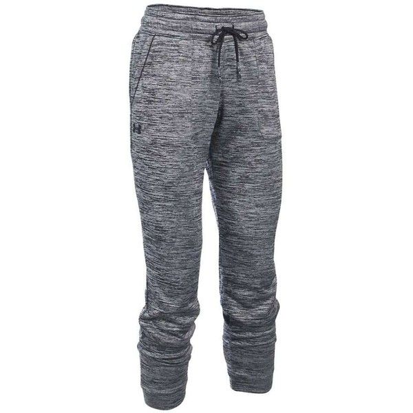 Under Armour Women's Lightweight Storm Armour Fleece Twist Jogger ($60) ❤ liked on Polyvore featuring activewear, activewear pants, under armour and under armour sportswear