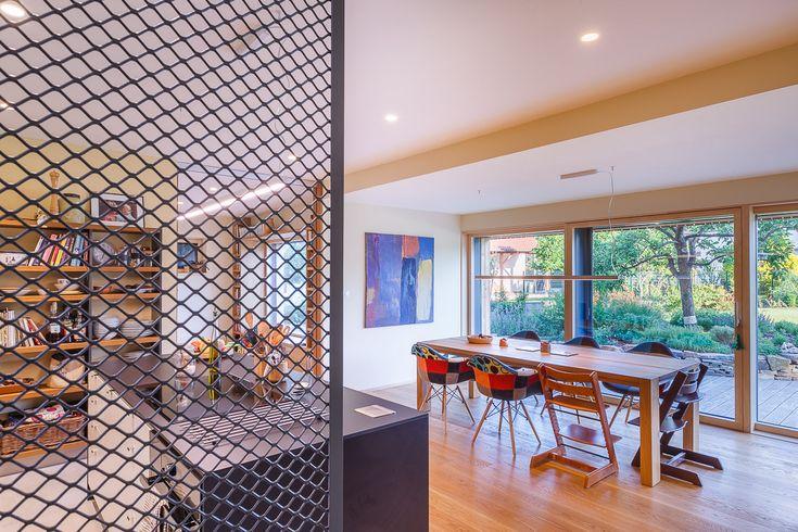passivhaus | small | family | home | interier | kalksandstein | two-storey house | berg | austria |