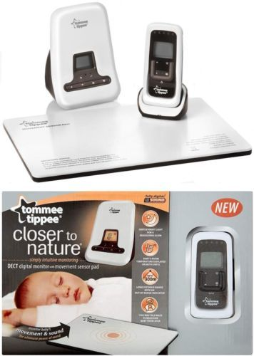 TOMMEE TIPPEE - Baby Monitor + Piastra Sensore Movimento - Funzione Talk-Back