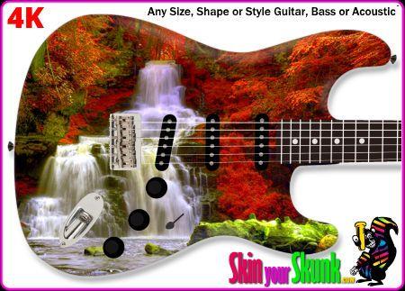 Buy Guitar Skin Waterfall Fall
