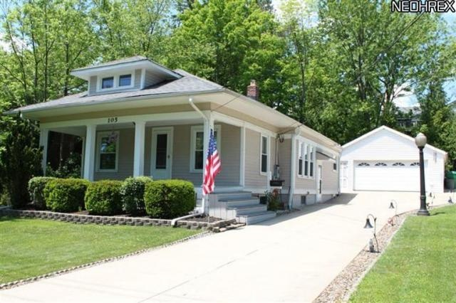 California Bungalow in Chagrin Falls, OH