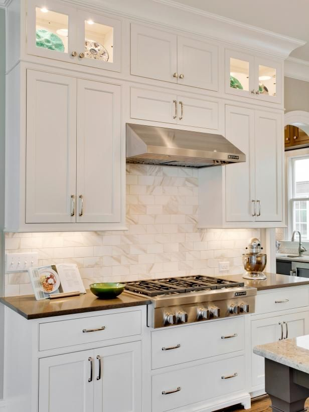 rooms viewer hgtv westover kitchen white shaker cabinets rh pinterest com